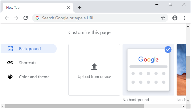 customize-chrome